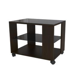 Стол журнальный Beauty Style 5 Венге /Черное стекло Mebelic