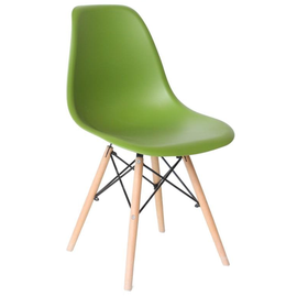 Стул Eames DSW зеленый Stool Group