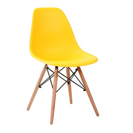 Стул Eames DSW желтый Stool Group