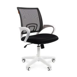 Компьютерное кресло Chairman 696 white черный TW 11 /TW 01