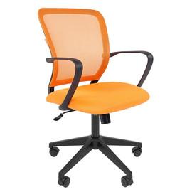Компьютерное кресло Chairman 698 Черный пластик ORANGE