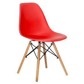 Стул Eames DSW красный Stool Group