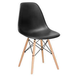 Стул Eames DSW черный Stool Group