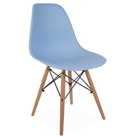 Стул Eames DSW голубой Stool Group