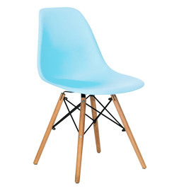 Стул Eames DSW бирюзовый Stool Group