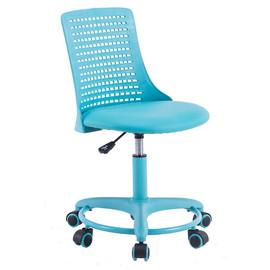 Кресло компьютерное Kiddy ткань, бирюзовый TetChair