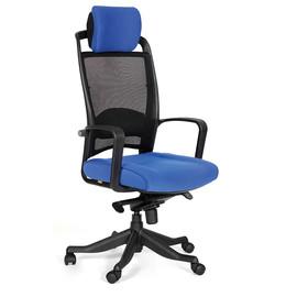 Компьютерное кресло для руководителя Chairman 283 Синее