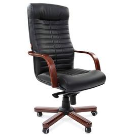 Компьютерное кресло для руководителя Chairman 480 WD Черная Эко кожа