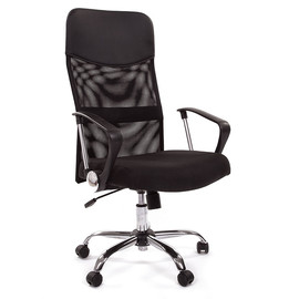 Компьютерное кресло для руководителя Chairman 610 черный
