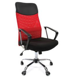 Компьютерное кресло для руководителя Chairman 610 Красный