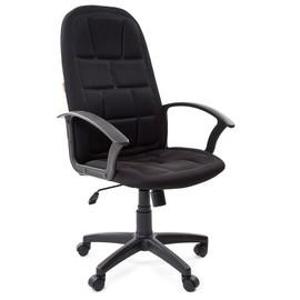 Компьютерное кресло для руководителя Chairman 737 Черный