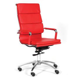 Компьютерное кресло для руководителя Chairman 750 Красное