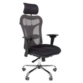Компьютерное кресло для руководителя Chairman 769 тканевое с сетчатой спинкой