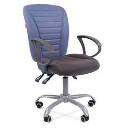 Компьютерное кресло Chairman 9801 Ergo серо-голубое