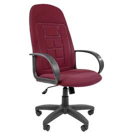 Компьютерное кресло для руководителя Chairman 727 CT Бордовый