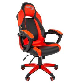 Кресло для геймеров Chairman Game 20 Красная ЭКО кожа