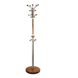 Вешалка напольная Д3 Декарт Средне-коричневый Mebelic