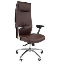 Компьютерное кресло для руководителя Chairman Vista (Виста) Коричневая Эко кожа