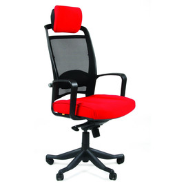 Компьютерное кресло для руководителя Chairman 283 Красное