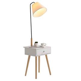 Торшер Джит белый (со столиком) KINK Light