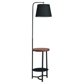 Торшер Мансар чёрный (со столиком) KINK Light