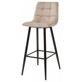 Барный стул Lecco UF910-01 Latte , велюр М-City