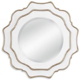 Зеркало настенное в раме Gardenia (Гардения) Art-zerkalo