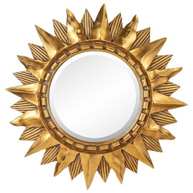 Зеркало-солнце Sol Gold (Солнце) Art-zerkalo