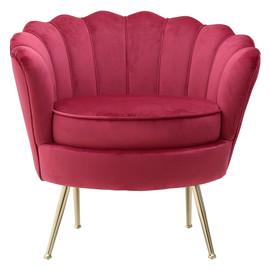 Кресло 7850045.0018 4Rooms Красная ткань