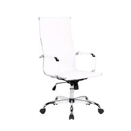 Кресло руководителя TopChairs City белое Stool Group