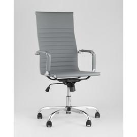 Кресло руководителя TopChairs City серый Stool Group