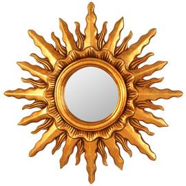 Зеркало-солнце Mirax Gold (Миракс) Art-zerkalo