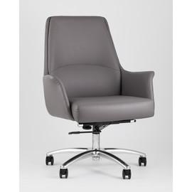 Кресло офисное TopChairs Viking серое Stool Group