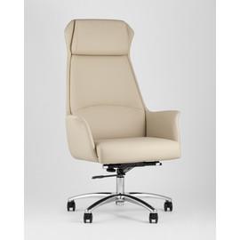 Кресло руководителя TopChairs Viking бежевое Stool Group