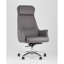 Кресло руководителя TopChairs Viking серое Stool Group