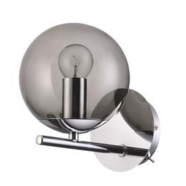 Бра Sierra Lumion с выключателем (Дымчатое стекло)