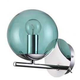 Бра Sierra Lumion с выключателем (Бирюзовое стекло)