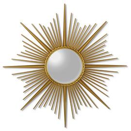 Зеркало-солнце в металлической раме Cassiopeia (Кассиопея)