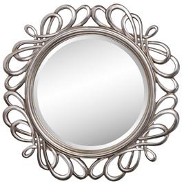 Зеркало навесное в раме модерн Plexus (Плексус) Art-zerkalo