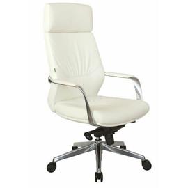 Кресло для руководителя Riva Chair A1815 натуральная кожа  Белый