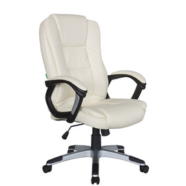 Кресло для руководителя в офис Riva Chair 9211 бежевый