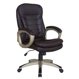 Кресло для руководителя в офис Riva Chair 9110 коричневый