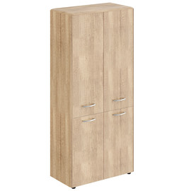 Шкаф с замками в средних и малых дверях  DHC 85.3 Дуб Каньон Dioni 892х470х1950 (без замка)