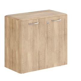 Шкаф низкий с малыми дверьми DLC 85.1(Z)  Дуб Каньон Dioni 892х470х815 ( с замком)