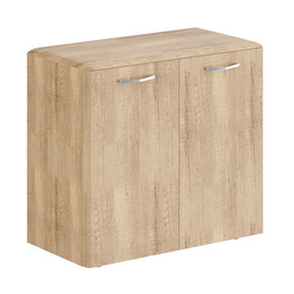 Шкаф низкий с малыми дверьми DLC 85.1 Дуб Каньон Dioni 892х470х815 ( без замка)
