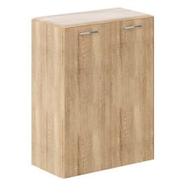 Шкаф средний   DMC 85.1Дуб Каньон  Dioni 892х470х1185  (без замка)