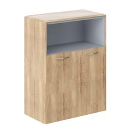 Шкаф средний  малые двери DMC 85.3(Z) Дуб Каньон Dioni 892х470х1185 (с замком)