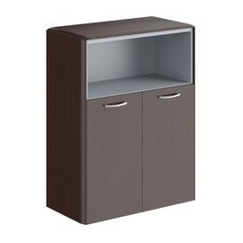 Шкаф средний  малые двери DMC 85.3 Венге Магия  Dioni 892х470х1185 (без замка)