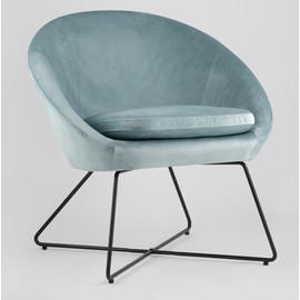 Кресло Колумбия пыльно-голубое Stool Group