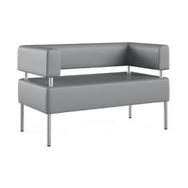 Двухместный диван  МС  (ШхГхВ-120х63х80 см.)